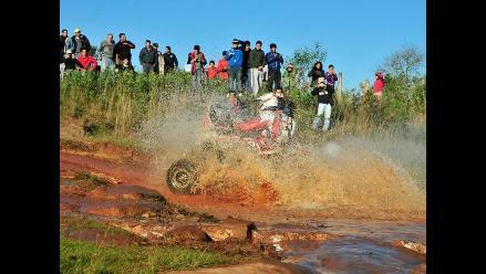Dakar Series: Lluvia impide pruebas de motos y quads en Desafío Guaraní