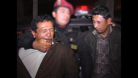 Jicamarca: Policía en retiro integraba banda de roba autos