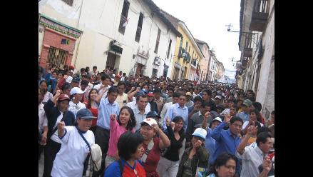 Pobladores marcharon para exigir construcción de hospital en Amazonas