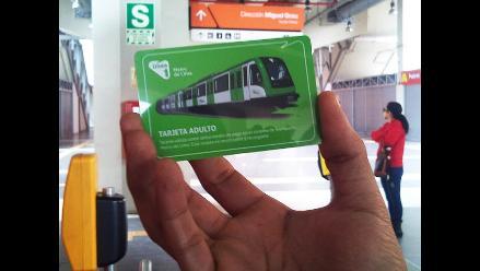 Tarjetas del Metro de Lima se venderán en todas las estaciones