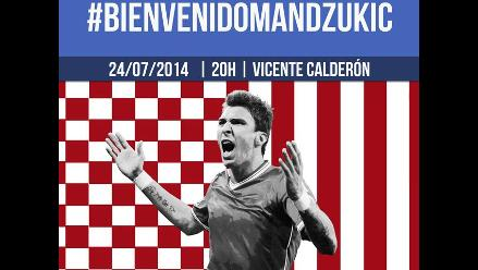 Mario Mandzukic marcó diferencias con Diego Costa en Atlético Madrid
