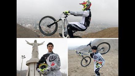 Conoce a Sebastián Alfaro, la promesa del downhill peruano