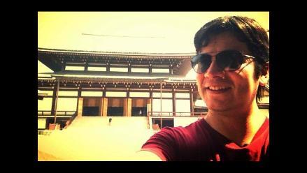 Lucho Quequezana ya se encuentra en Japón
