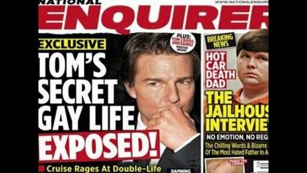 Tom Cruise: periódico estadounidense publica en portada que actor es gay