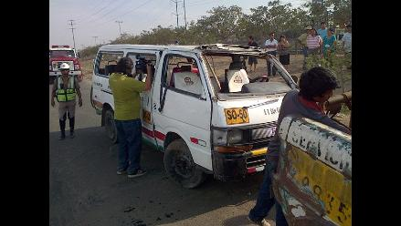 Ica: tres fallecidos en despiste vehicular en Chincha