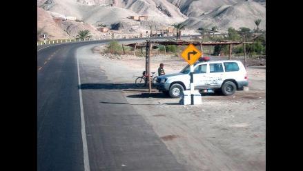 La Libertad: Reforzarán vigilancia de vía de acceso a Otuzco