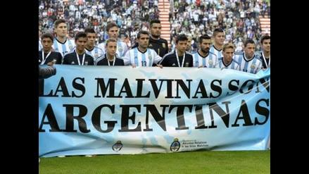 FIFA multa a selección argentina por pancarta