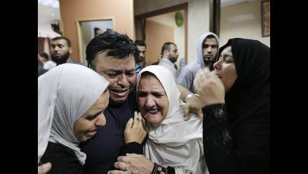 Cisjordania: 4 palestinos murieron en protestas contra la ofensiva israelí