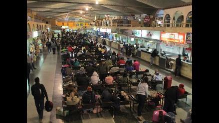 Arequipa: pasajes interprovinciales se duplican por feriado largo
