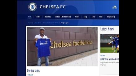Didier Drogba regresó a Chelsea por pedido de José Mourinho