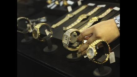 Exhibición de las 152 joyas de Vladimiro Montesinos