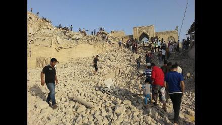 Irak: yihadistas destruyen una mezquita del siglo X en Mosul