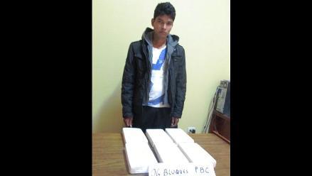 Pisco: Policía Antidrogas incauta seis kilos de alcaloide de cocaína
