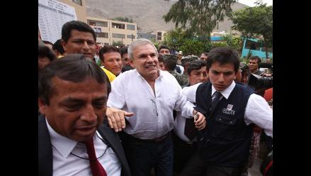 Presentan tacha contra la candidatura de Luis Castañeda Lossio