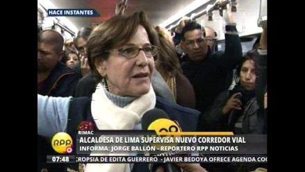 Villarán: Hay señores que se han animado a venir a fregar