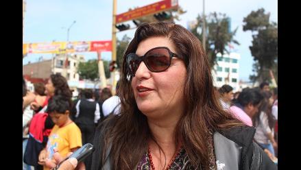 Esposa de César Álvarez confía que caso se esclarece en Lima