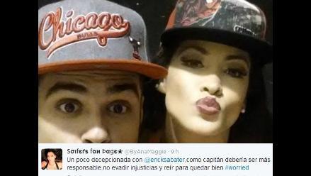 Erick Sabater perdió la paciencia con fan que dijo estar decepcionada