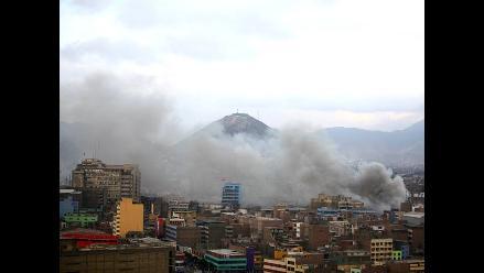 Trujillo: 8 mil familias en peligro por humareda de almacenes de carbón