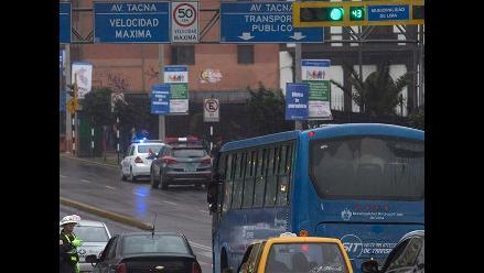 Buses patrón de Corredor Azul darán servicio hoy desde la 1.00 p.m.