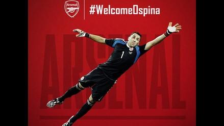 Arsenal confirma a David Ospina como su nuevo portero