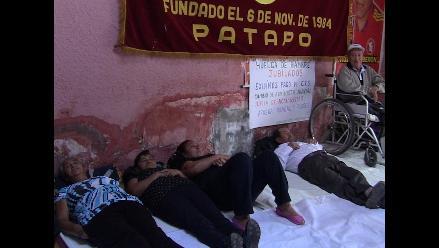 Lambayeque: jubilados de Pucalá evalúan retomar huelga de hambre