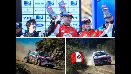 Nicolás Fuchs logra segundo puesto en Rally de las Sierras Chicas