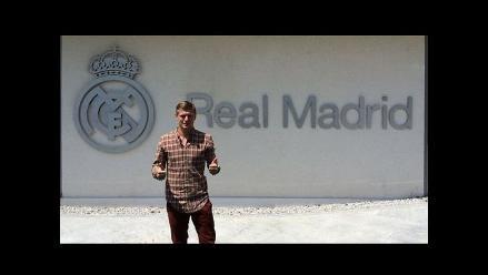 Toni Kroos sorprendido con las instalaciones de Real Madrid