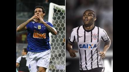Cruzeiro lidera el Brasileirao ante amenaza de Corinthians y Fluminense