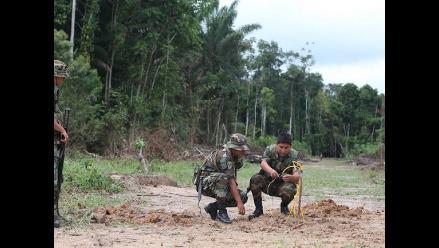 Policía Nacional destruyó catorce pistas de aterrizaje clandestinas