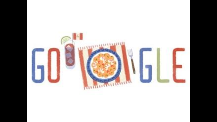 Google se une a la celebración por Fiestas Patrias