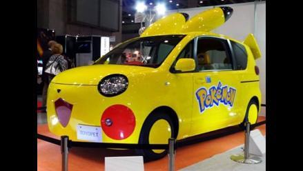 Presentan el primer auto inspirado en Pokémon