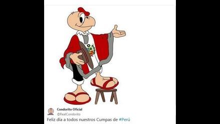 Condorito envió saludos a los peruanos por Fiestas Patrias