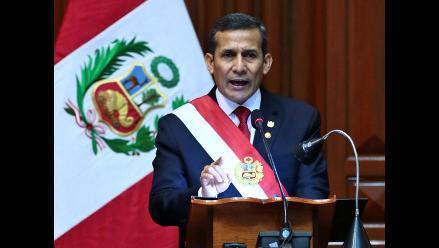 Los anuncios más importantes del Mensaje Presidencial de Ollanta Humala