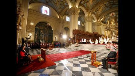 La Misa y Tedeum por el aniversario 193 del Perú