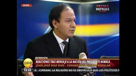 Díaz Dios pide mayor fiscalización a inversiones
