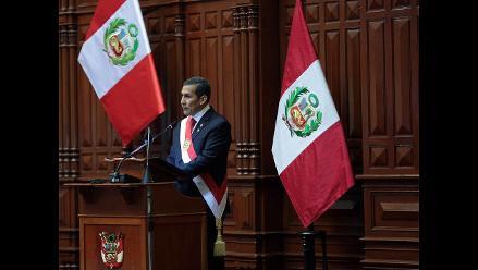 Humala: Estamos construyendo un Perú con progreso para todos