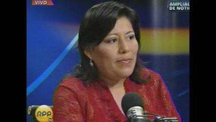 Familiares de congresista Natalie Condori son sepultados en Tacna