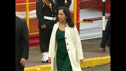 Nadine Heredia llegó a la Gran Parada Militar