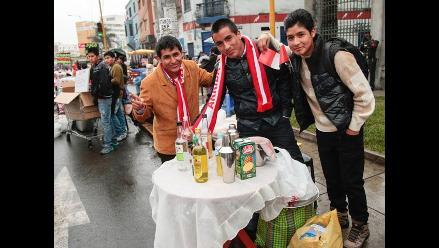 Desayuno patriota: comerciantes rayaron en la Parada Militar