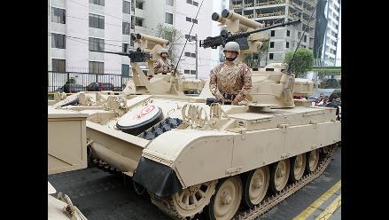 Conociendo más de cerca los vehículos de reconocimiento de las FFAA