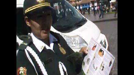 Cusco: Policía de Turismo orienta a viajeros por Fiestas Patrias