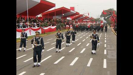 Parada Militar: Así fue el paso de la Fuerza Aérea del Perú en el desfile