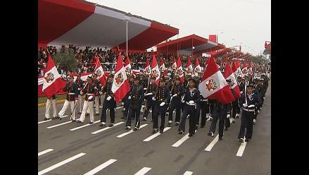 Parada Militar: Así fue el paso de Marina de Guerra del Perú en el desfile