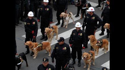 Policía Canina y Policía Montada se robaron el show