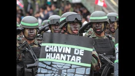 El Ejército del Perú desfiló en la Gran Parada Militar