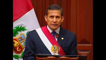 Ollanta Humala hizo falso anuncio en mensaje a la Nación, afirman