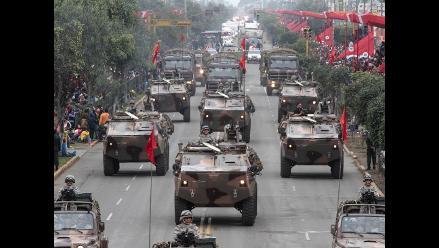 Parada Militar: FFAA y PNP marcharon por Fiestas Patrias