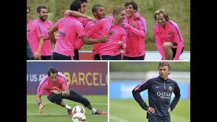 Así refuerza Barcelona el tema físico en Inglaterra y ya piensa en la Liga