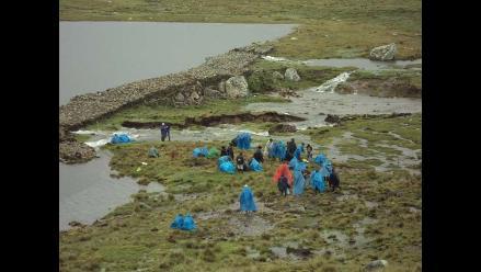 La Libertad: monitorean parte alta de Otuzco por heladas negras