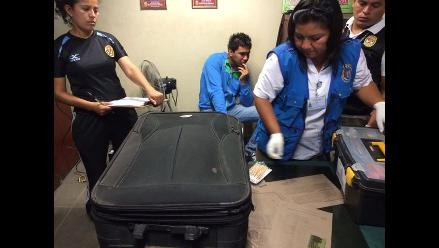 Peruana fue detenida en aeropuerto de Brasil con 1,16 kilos de cocaína